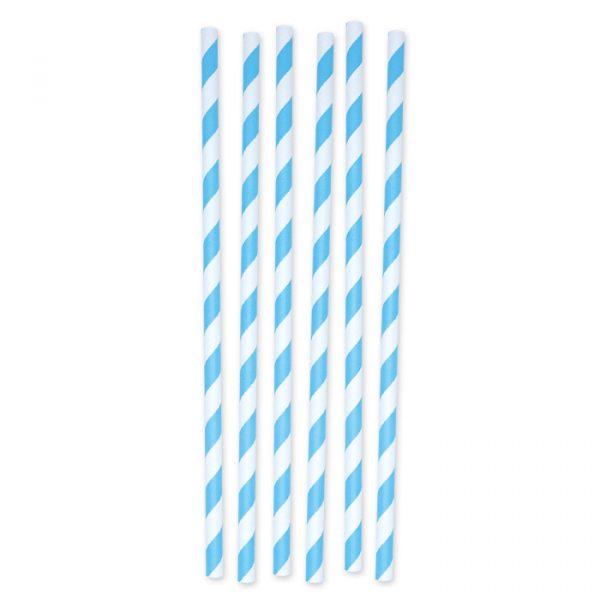 12 Cannucce in carta h 20 cm x Ø 0