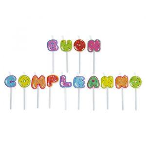 Set Candeline Picks Maxi 8 cm Cupcake