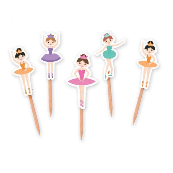 25 Picks Sagomati 4 x 7 cm I Love Ballet