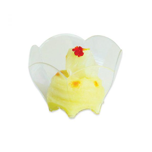 12 Coppette Tulipano Finger Food in plastica 7 x 6