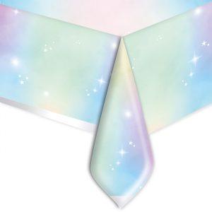 Tovaglia in plastica 140 x 270 cm Soft Rainbow