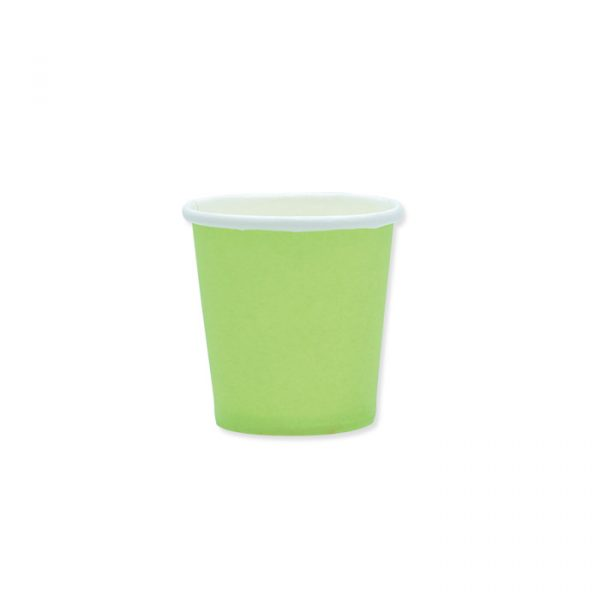 25 Bicchieri Ecolor 80 cc Verde Mela