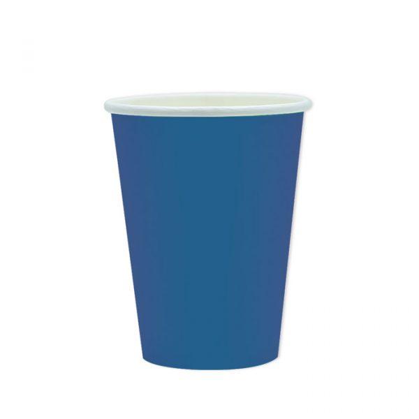 25 Bicchieri Ecolor 200 cc Blu