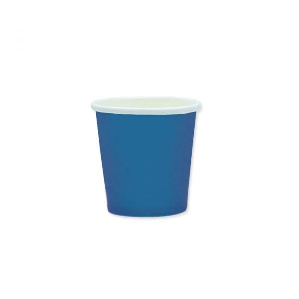 25 Bicchieri Ecolor 80 cc Blu