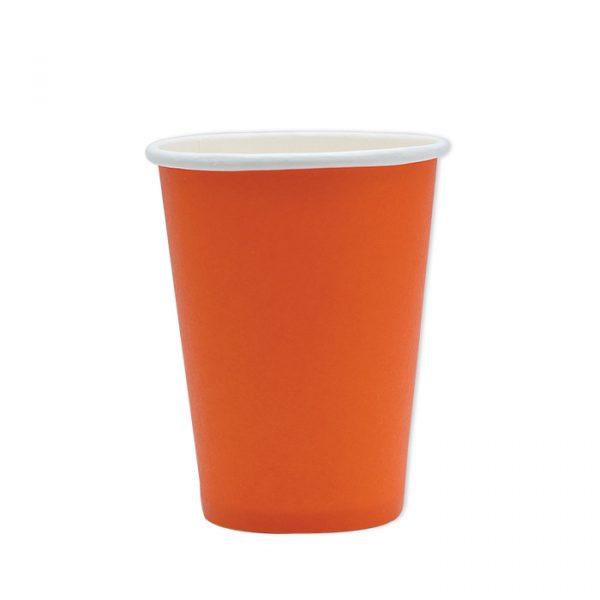 25 Bicchieri Ecolor 200 cc Arancio