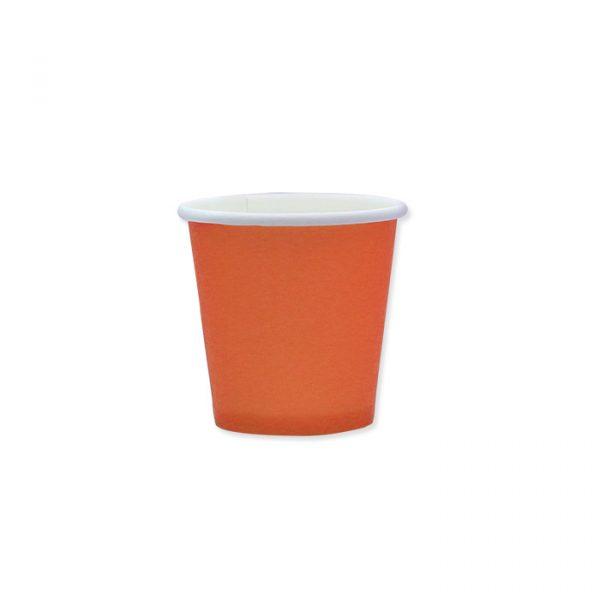 25 Bicchieri Ecolor 80 cc Arancio