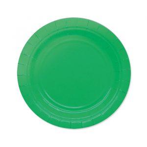25 Piatti Ecolor Ø 18 cm Verdi