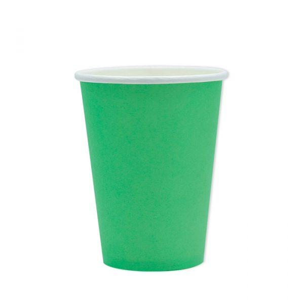 25 Bicchieri Ecolor 200 cc Verdi