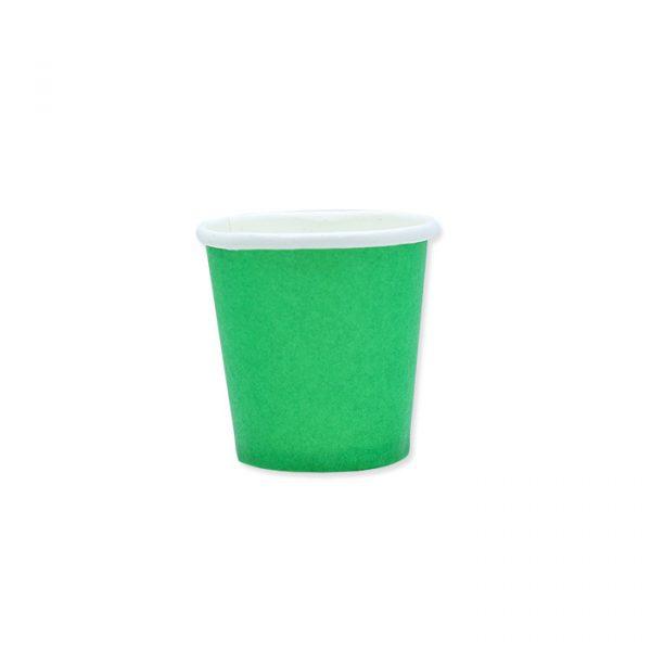 25 Bicchieri Ecolor 80 cc Verdi