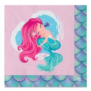20 Tovaglioli 33 x 33 cm Sirena