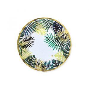 8 Piatti Ø 20 cm Tropical