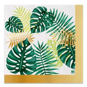 20 Tovaglioli 33 x 33 cm Tropical