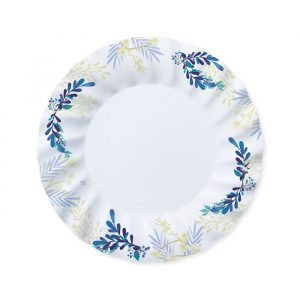6 Piatti Ø 30 cm Blue Floral