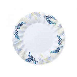 8 Piatti Ø 25 cm Blue Floral