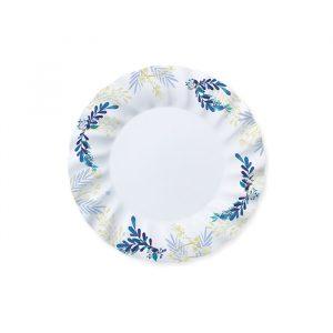 8 Piatti Ø 20 cm Blue Floral