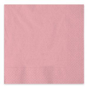 40 Tovaglioli Ecolor 33 x 33 cm 2 Veli Rosa