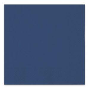 40 Tovaglioli Ecolor 33 x 33 cm 2 Veli Blu