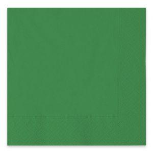 40 Tovaglioli Ecolor 33 x 33 cm 2 Veli Verdi