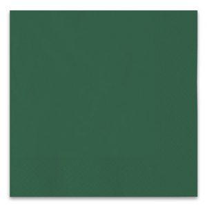 40 Tovaglioli Ecolor 33 x 33 cm 2 Veli Verde Foresta