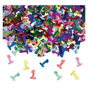 Coriandoli in plastica 15 gr Uno