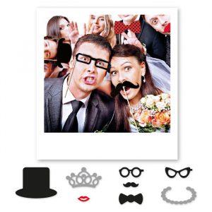 8 Maxi Photo Booth 20 cm Weddings