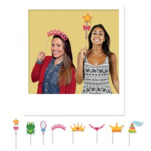 8 Maxi Photo Booth 20 cm Princess