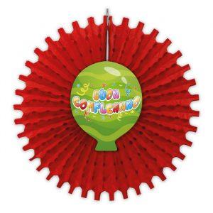 Girandola in carta con decoro 66 cm Buon Compleanno Balloon