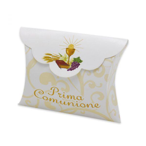 25 Scatoline portaconfetti Busta in carta 10 x 8 x 3 cm La Mia Comunione