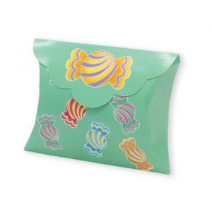 25 Scatoline portaconfetti Busta in carta 10 x 8 x 3 cm Candy