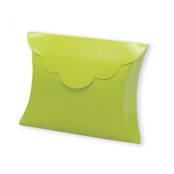 25 Scatoline portaconfetti Busta in carta 10 x 8 x 3 cm Verde Mela