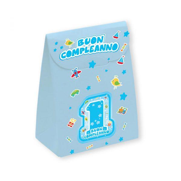 25 Scatoline portaconfetti Sacchetto in carta 6 x 8 x 3
