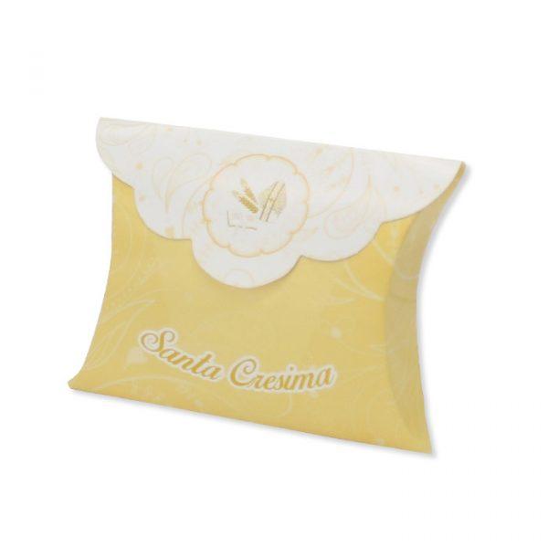 25 Scatoline portaconfetti Busta in carta 10 x 8 x 3 cm La Mia Cresima