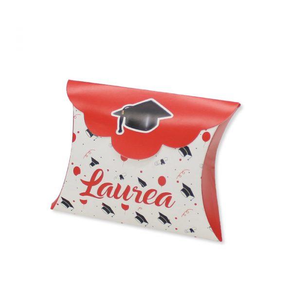 25 Scatoline portaconfetti Busta in carta 10 x 8 x 3 cm La Mia Laurea