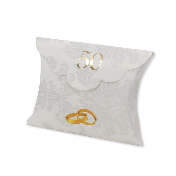 25 Scatoline portaconfetti Busta in carta 10 x 8 x 3 cm 50° Anniversario