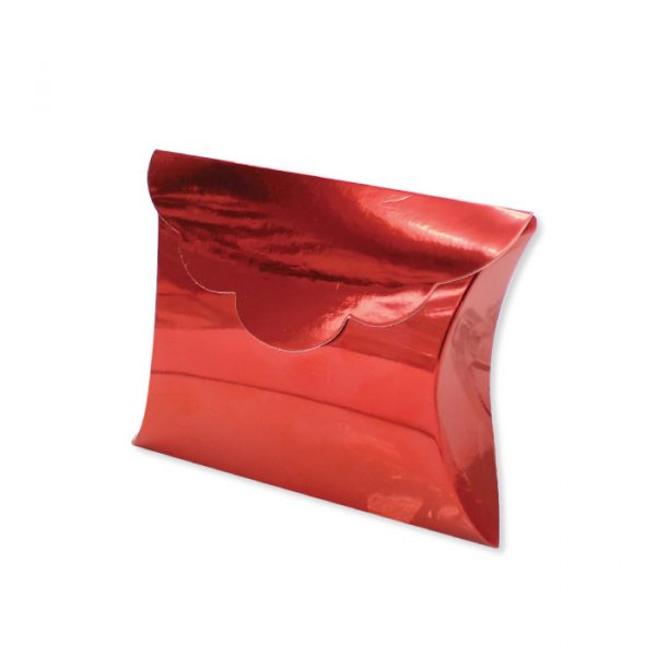 25 Scatoline portaconfetti Busta in carta 10 x 8 x 3 cm Rosso Metal