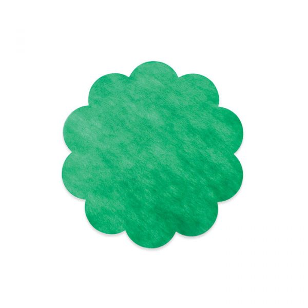 20 Margherite in TNT Ø 35 cm Verde