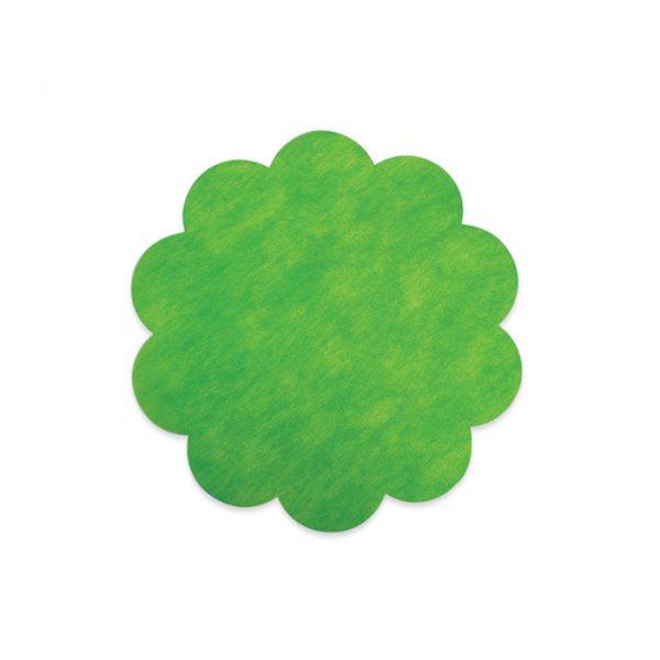 20 Margherite in TNT Ø 35 cm Verde Mela