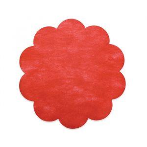 20 Margherite in TNT Ø 45 cm Rosso