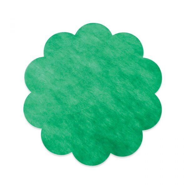 20 Margherite in TNT Ø 45 cm Verde