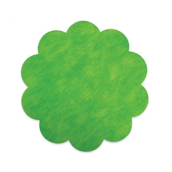 20 Margherite in TNT Ø 45 cm Verde Mela