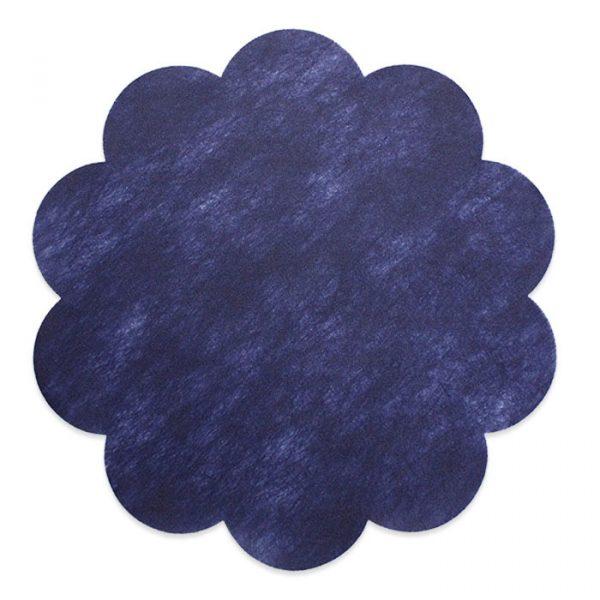 20 Margherite in TNT Ø 55 cm Blu