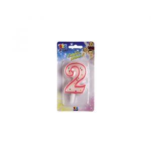 Candelina Zuccherino Rosa 8