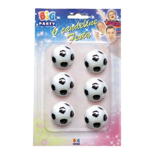 6 Candeline Pallone Calcio