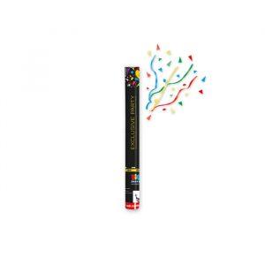 Cannon Sparacoriandoli 40 cm Exclusive Party Multicolor Metal