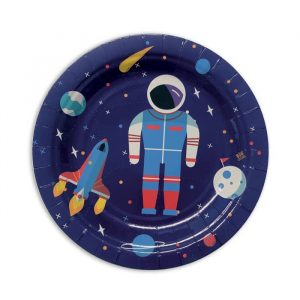 8 Piatti Ø 18 cm Astronaut