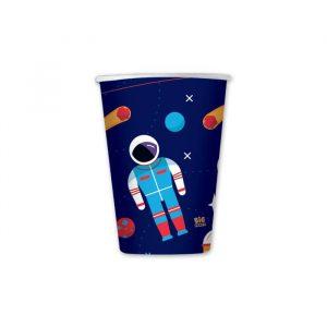 8 Bicchieri 200 cc Astronaut