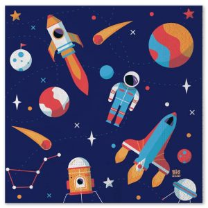 20 Tovaglioli 33 x 33 cm Astronaut