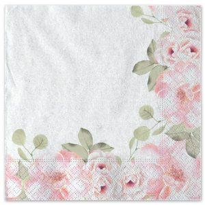 20 Tovaglioli 33 x 33 cm Floral